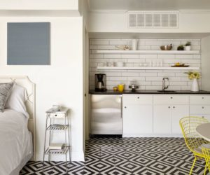 Small house with an open kitchenette
