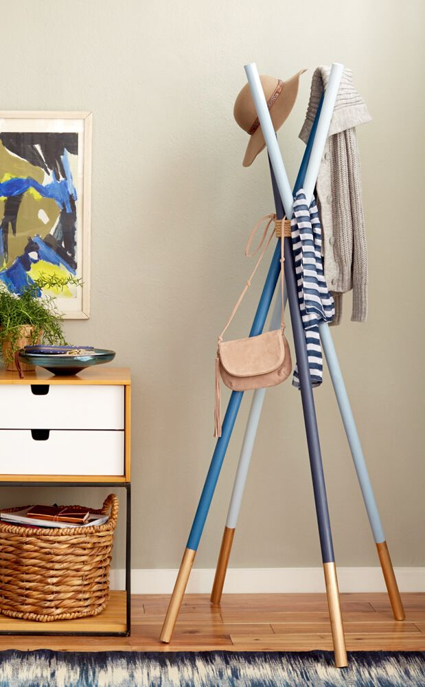 Solving The Standing Vs Wall Mounted Coat Rack Dilemma With