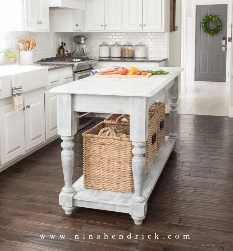 20 Diy Kitchen Island Ideas That Can
