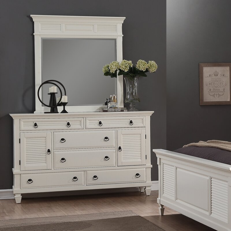 A retro chest of drawers perfect for organized bedrooms