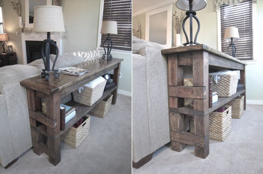 15 Stylish Ways To Make The Most Of Behind Sofa Table - Behind Couch Sofa Table Decor Ideas