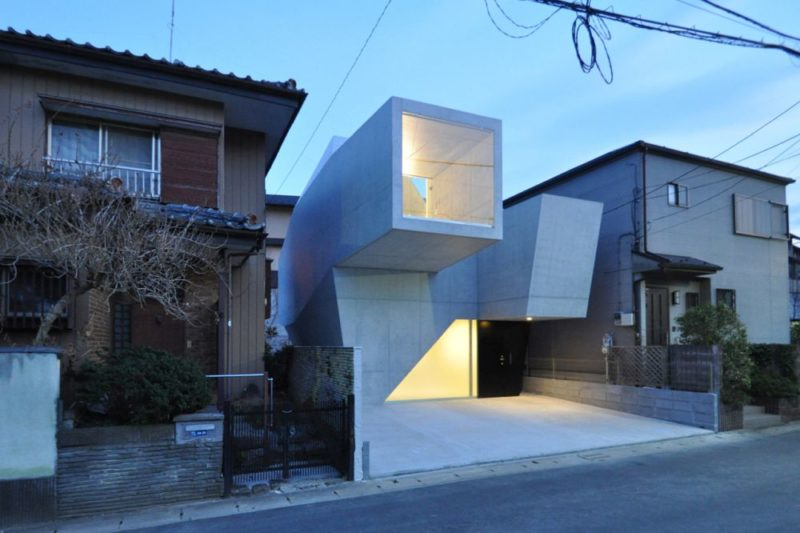 Concrete Dominates These Japanese Brutalist Homes, Both Inside and Out