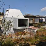 Brutal Concrete House in Abiko Design