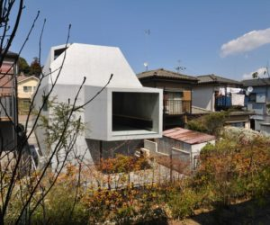Brutal Concrete House in Abiko Design