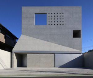 Brutal house in tsudanuma by fuse-atelier