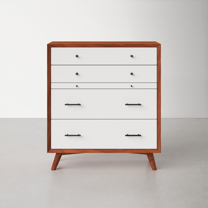 Elegant chest of drawers with built-in jewelry drawer