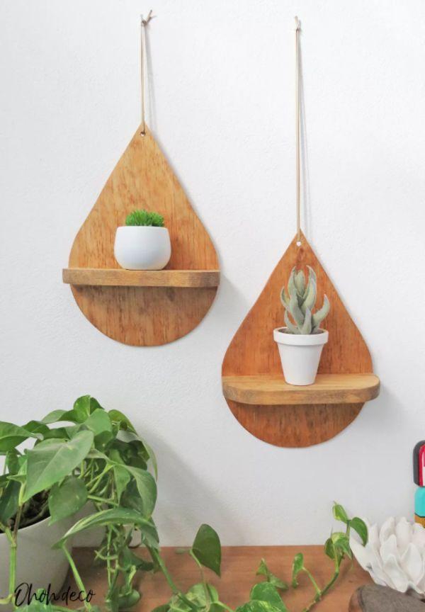 Give the shelves an interesting shape