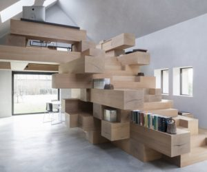 10 Architectural Bookcases That Go Beyond All Expectations