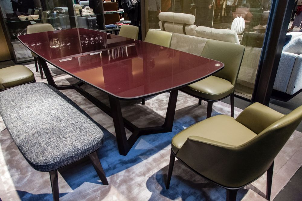 It might be fun to pick dining room furniture in different colors to create a fun, eclectic decor