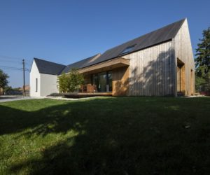 Old House And Barn Transition Into A Modern Family Home