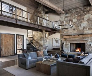 Rustic Mountain Retreat Blends In Yet Stays Original