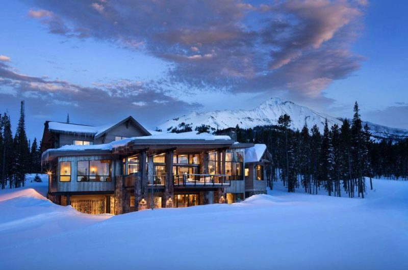 Rustic Mountain Retreat Blends In Yet Stays Original