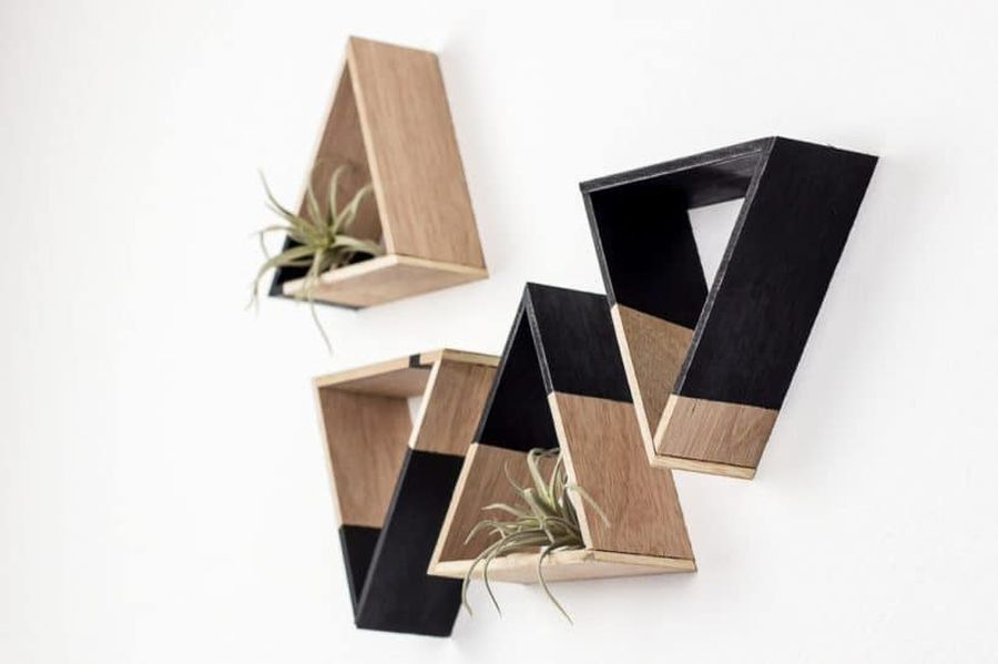 Play with geometric shapes