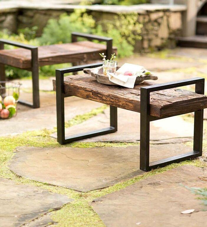Diy Outdoor Bench Ideas, Small Outdoor Benches