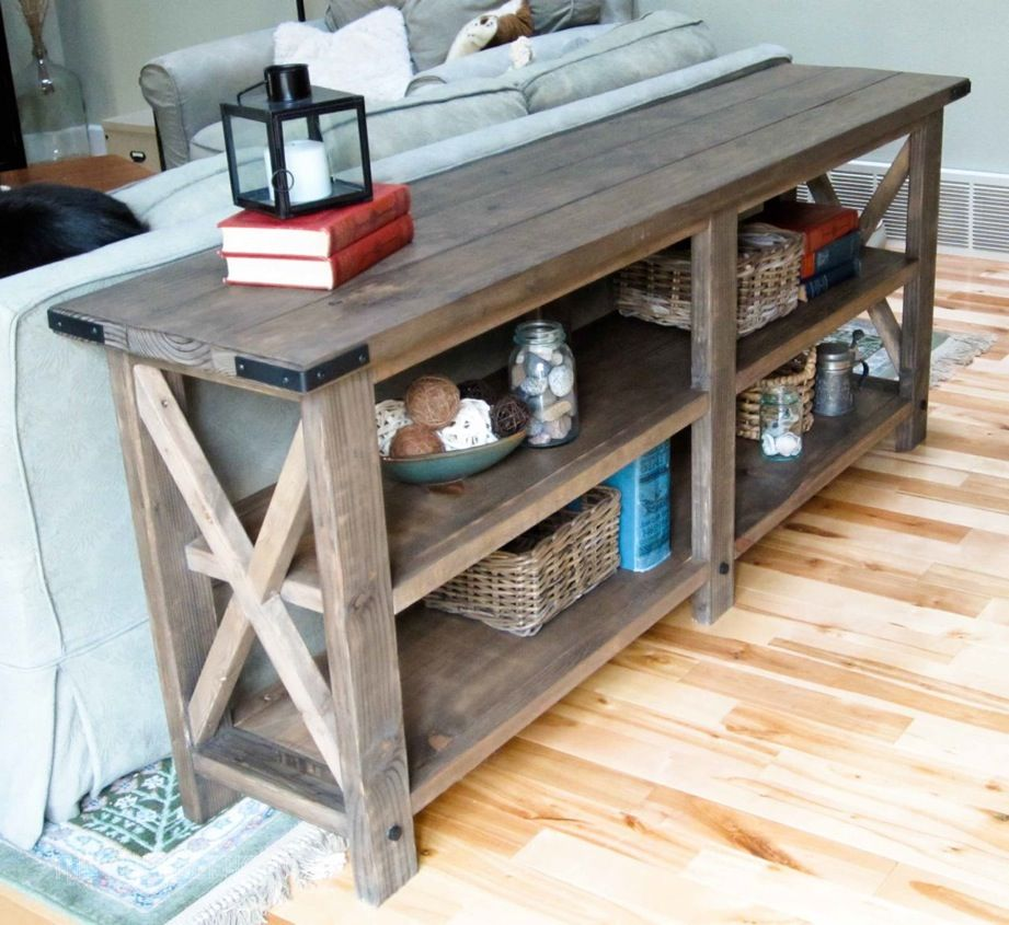 15 Stylish Ways To Make The Most Of Behind Sofa Table - What Is A Tall Skinny Table Called