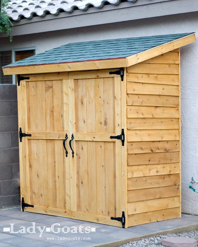 Small Storage Shed Ideas Any Backyard, Small Wooden Garden Sheds