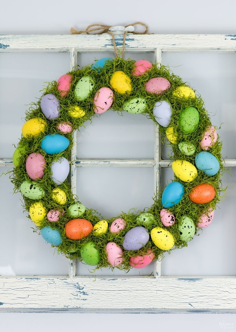 25 Adorable Easter Wreath Ideas We Can't Wait For You To Try
