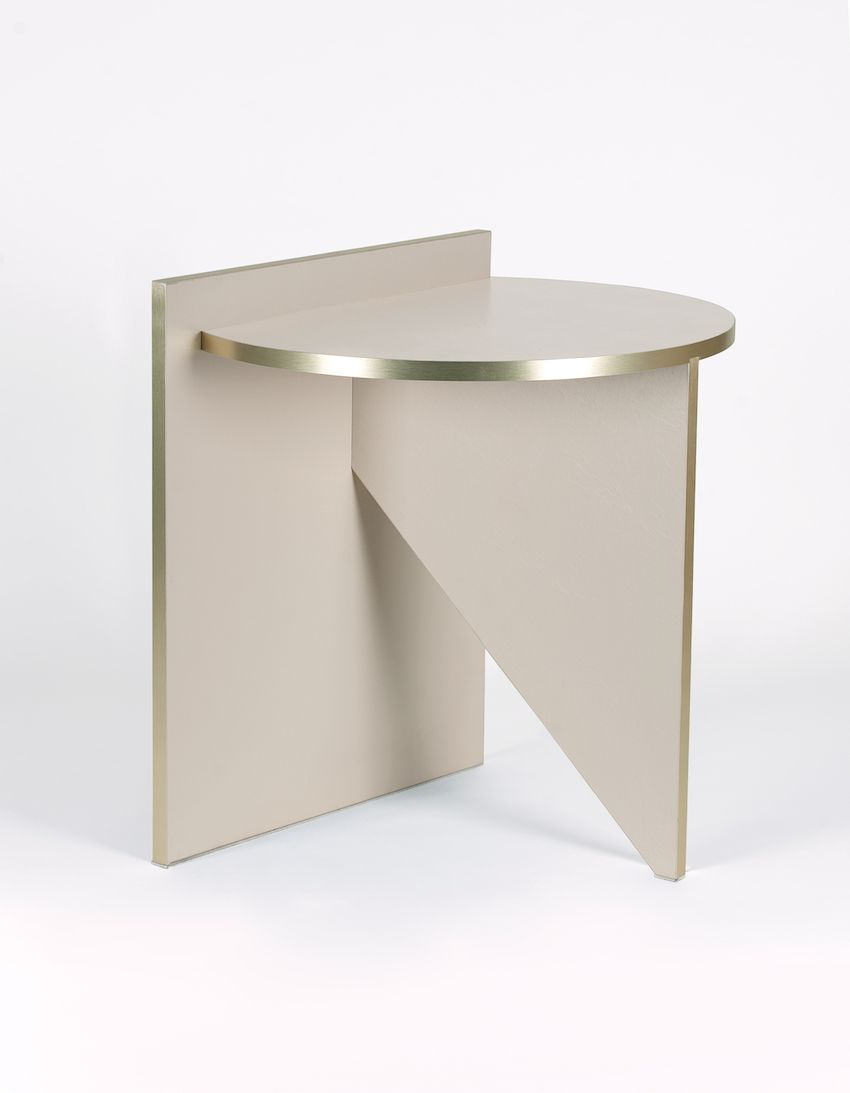The modern, minimalist table is very versatile.