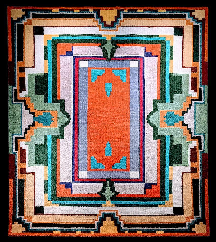 Vintage designs are rendered in modern, crowd-pleasing rugs.