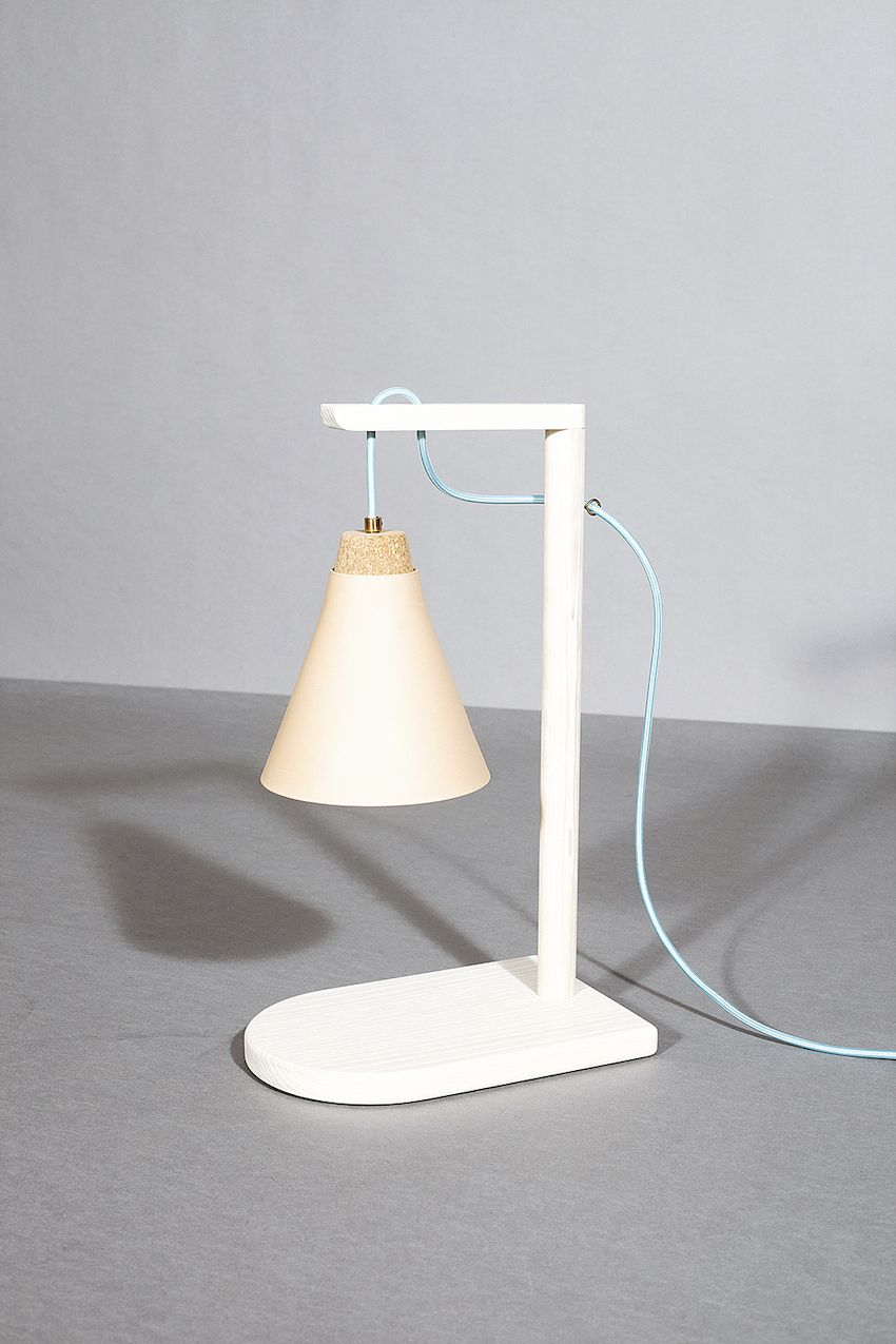 The simplicity of this table lamps speaks volumes.