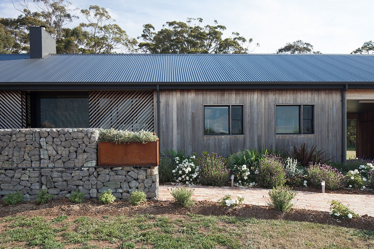 This house is a wonderful blend of old and new, modern and traditional in just the right proportions