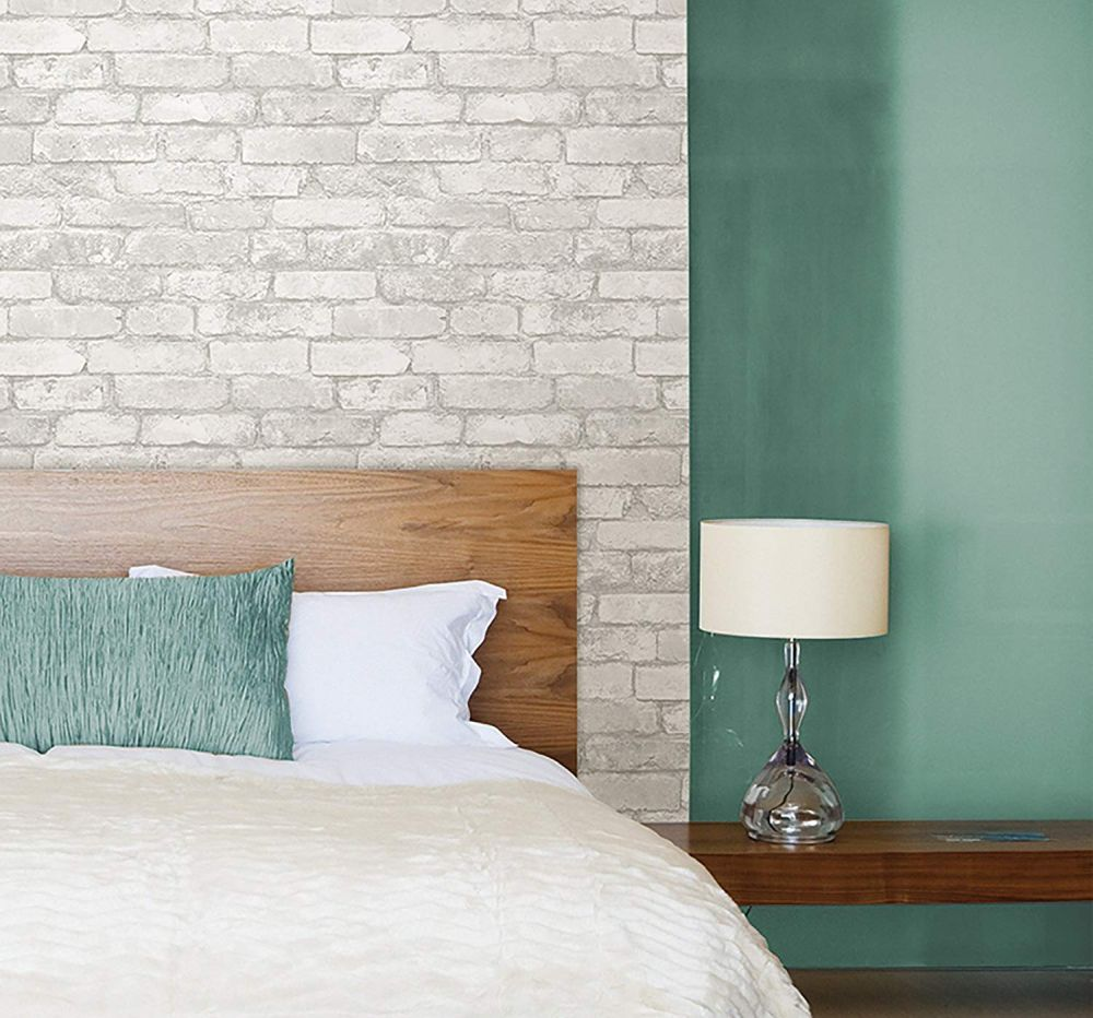 29 Stylish Ways To Bring Brick Wallpaper Into Your Home