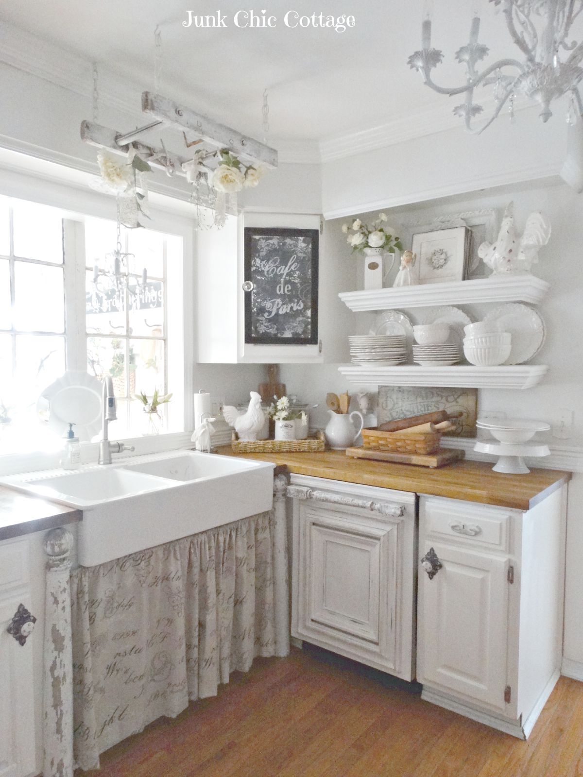 enchanting shabby chic kitchen design | How To Design A Shabby Chic Kitchen With A Subtle Modern Vibe