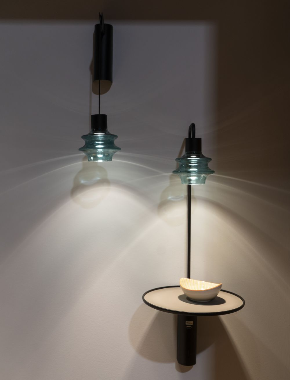 The drip is more than just a light fixture it takes wall lamps to a new level by showing clean and minimalist lines complemented by a very versatile and