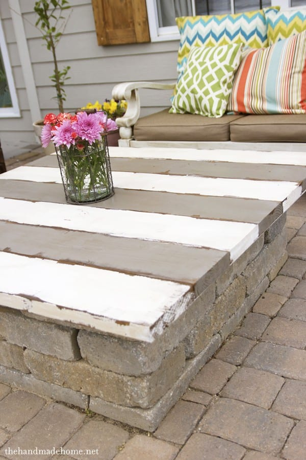 DIY Garden Ideas Make a Cover for Your Fire Pit