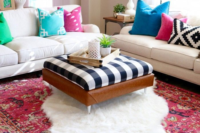 15 Cool Ways To Tackle The DIY Ottoman Challenge