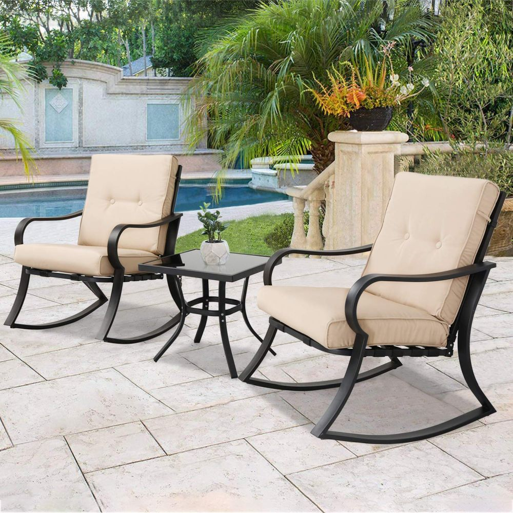 30 Outdoor Rocking Chairs To Peruse, Outdoor Furniture Rocking Chair