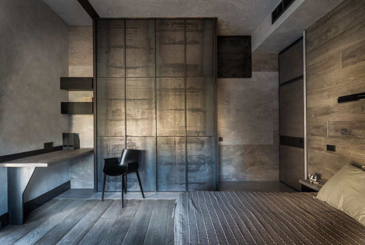The private rooms are still quite monochromatic but welcome a new material in their designs: wood