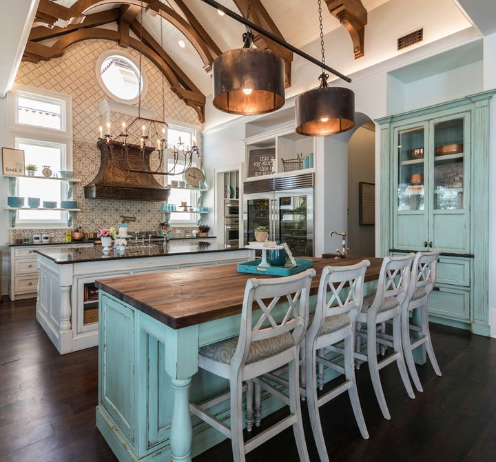 It's possible to have both a kitchen island and a bar