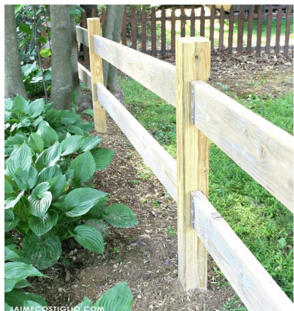 How To Make The Most Of A Split Rail Fence On Your Backyard Rail Fence Christmas Lighting Ideas on fence with outdoor christmas lights, fence split rail christmas decorating, fence post christmas ideas, fence painting ideas,