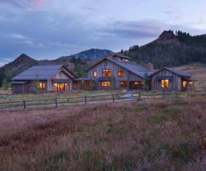 Old Barn Converted Into A Rustic Family Retreat With Authentic Charm