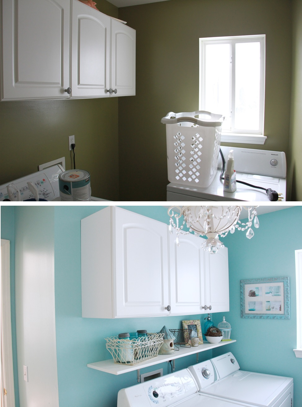 Inspiring Laundry Room Makeover Ideas With Amazing Results on Amazing Laundry Rooms  id=21090