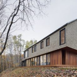 Canada house with Wooden Shingles