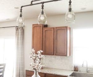 How To Make Your Own DIY Industrial Light Fixtures Right Now