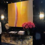 Cullman-Kravis credenza and bold wall art
