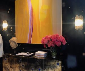 Cullman-Kravis credenza and bold wall art
