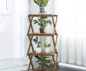 A Selection Of Stylish Indoor Plant Stands You Can Buy Or Craft
