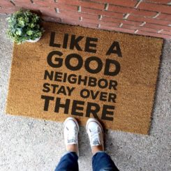 Funny Outdoor Doormat