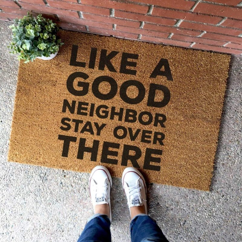 20 Funny Doormats That Can Put A Smile On Anyone's Face