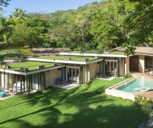 Beautiful Beachfront House Among The Palm Trees