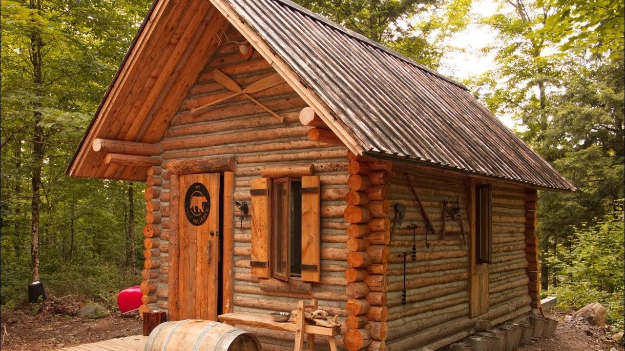 Tiny Log Home Designs: How To Plan And Build A Small Cabin From Start To Finish