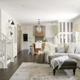 Modern french country interior design