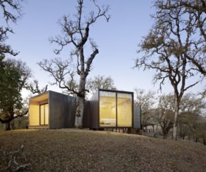 A Special Private Retreat Built Around Old Oak Trees