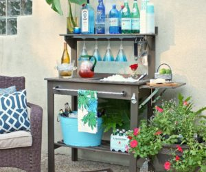 Awesome DIY Bar Ideas For The Perfect Summer Project