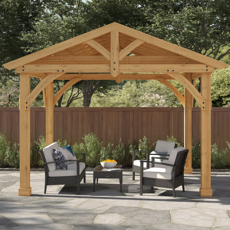 How To Build Your Own Wooden Gazebo, Outdoor Patio Gazebo Plans