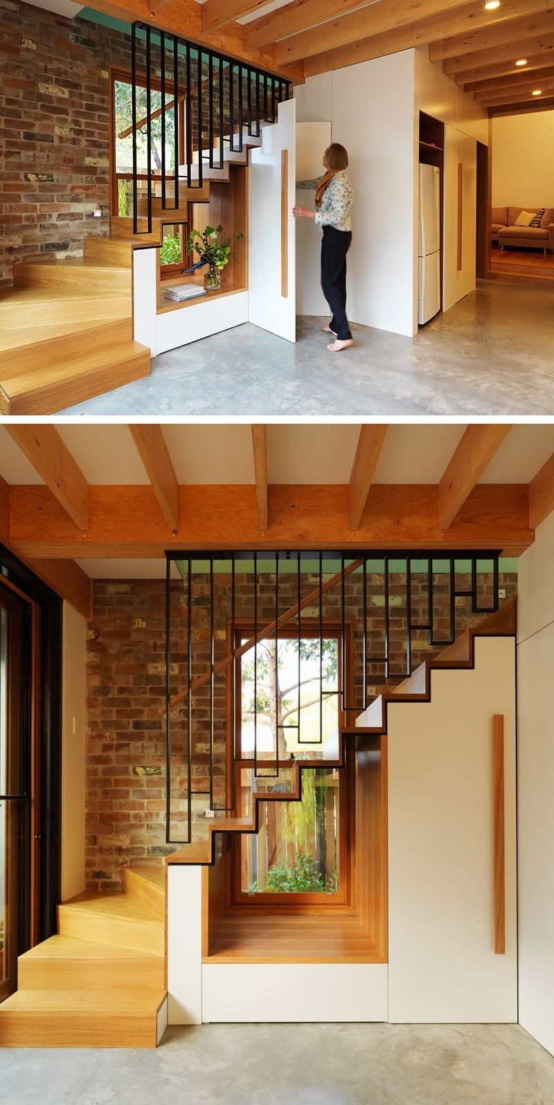 Let the light shine through your staircase